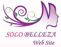 www.solobelleza.com diseño de página web