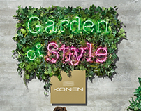 KONEN 'Garden of Style' SS2013 Fashion Campaign