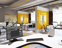 Office Interior design / 2012