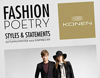 KONEN 'Fashion Poetry' AW 2013 Campaign