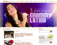 Ivete Sangalo Website (2009)