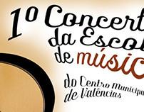 1º Concerto da Escola de Música - Centro de Valências