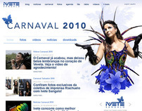 Ivete Sangalo Carnaval Website (2010)