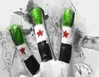 Syrian Victory Sign (النصر)