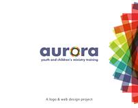 Aurora Training (web & logo design project)