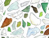 Sea glass (St. John, USVI)