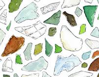 Sea glass (St. John, USVI)