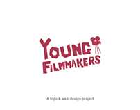 Young Filmmakers (web & logo design project)
