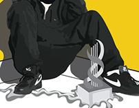 Dizzie Rascal XL Poster