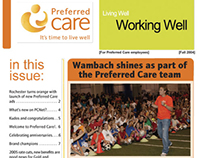 quarterly employee newsletter
