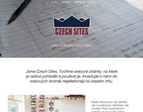Czech Sites | One page portfolio website