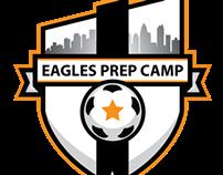 Charlotte Eagles Prep Camp Logo design