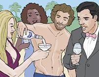 Jose Cuervo Tequila Storyboards