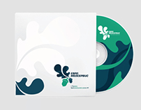 Brand, identity for European Medical center in Russia