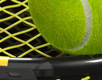 Tennis Racquet & Ball