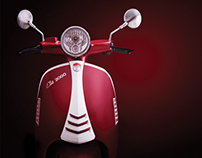 STMAX HAOJUE E-Scooter - Motorcycle