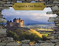 Tourism Ireland Campaign: 'Legend is Our Reality'