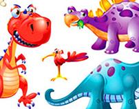 Dinosaur Magnet Puzzle Board