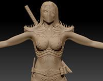 Female Ninja (work in progress)