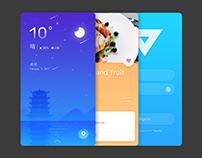 Portfolio of UI Design