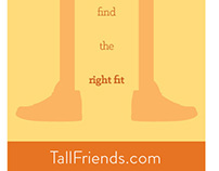 Tall Friends Ad Campaign