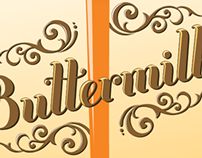 Buttermilk: Font Illustration/ Article