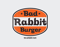 Bad Rabbit Burger, 2013 / Brand Design