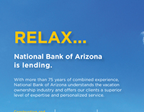 NB|AZ Vacation Ownership Financing Print Collateral