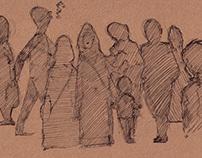 experimental sketches