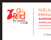 2014 Phoenix Go Red for Women Luncheon Sponsorship Ad