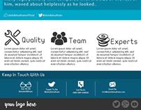 Website UI PSD