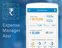 UI/UX & VD for Expense Manager App