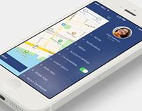 Ios7 App Sliding Menu Design