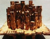 Sculpture (wood)