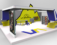 Exhibition stand idea for La Sportiva