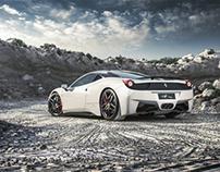 Ferrari 458 italia Quarry