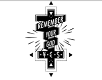 Tee-shirt - Remember Your God