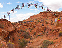 Red Bull Rampage: Kelly McGarry's Canyon Gap Backflip