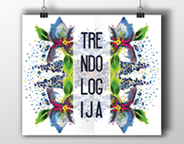 TRENDOLOGIJA fashion event identity