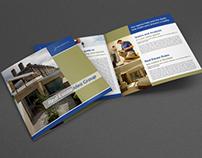 Real Estate Services Bi-Fold Brochure Template Vol2