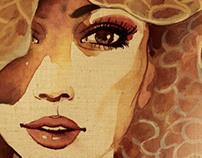 Barista - 'Milano Collezioni' (Coffee Art Posters)