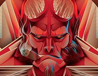 HELLBOY Vector Tribute