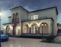 Single family house.designed by Orkhan Afandiyev.