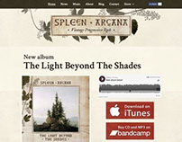 Spleen Arcana official website