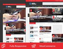 United - Modern Responsive Magazine & Blog Theme