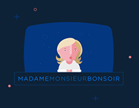 Madame-Monsieur-Bonsoir // Website - 2014