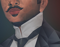 Greatest Filipino Artist | Polygonal Portrait