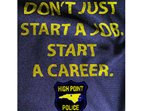 High Point Police Recruitment Poster