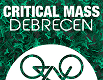 Critical Mass, Debrecen 2014 - sticker