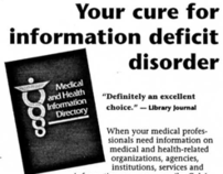Medical Reference Book Ad